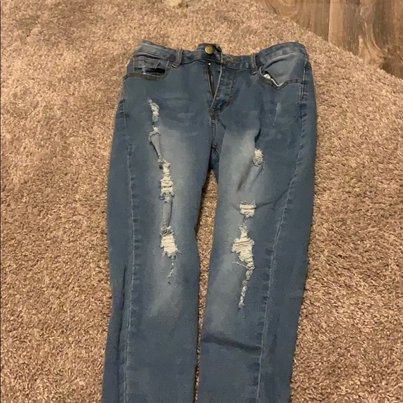 SHEIN Other - Shein ripped jeans